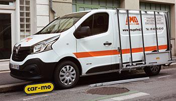 pupitre véhicule SAV, Renault trafic